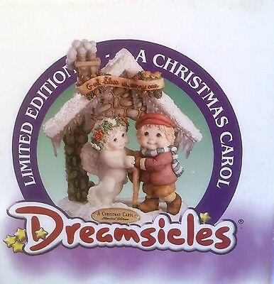 A Christmas Carol Dreamsicles Item 10844 NIB Limited Edition