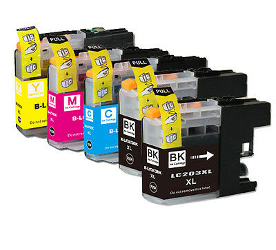 16 PK New Ink Set latest chip for Brother LC203 XL MFC J460DW J480DW J485DW
