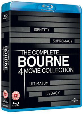 The Complete Bourne 4 Movie Collection [ Blu-ray