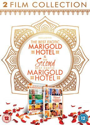 The Best Exotic Marigold Hotel/The Second Best Exotic Marigold... DVD (2015)