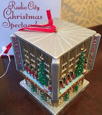 Radio City Music Christmas Spectacular Christmas Ornament, NYC -- Resin #931038