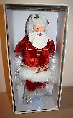 Coca-Cola 1990 Posable Santa Claus In Box Still Factory Wrapped Willitts Designs
