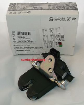 Genuine Skoda Tailgate Boot Lock 5J0827501C