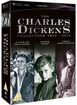 A Tale of Two Cities/Oliver Twist/Great Expectations DVD (2012) Dirk Bogarde,