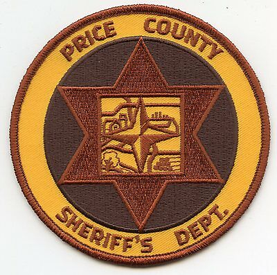 Price County Wisconsin Wi Sheriff Police Patch