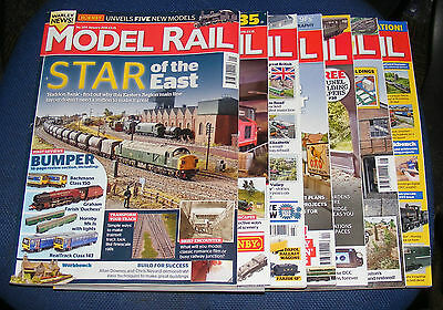 Model Rail Magazines Various Issues 2015