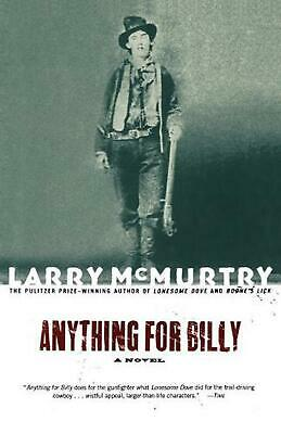 Anything for Billy by Larry McMurtry (English) Paperback Book Free Shipping!
