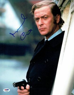 Michael Caine Signed Authentic Autographed 11x14 Photo PSA/DNA #AA40866