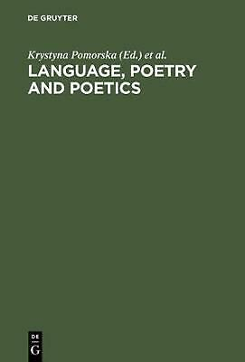 NEW Language, Poetry and Poetics by Hardcover Book (English) Free Shipping