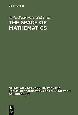 NEW The Space of Mathematics by Hardcover Book (English) Free Shipping