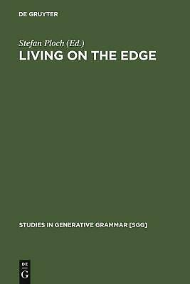 NEW Living on the Edge by Hardcover Book (English) Free Shipping