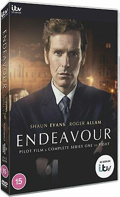ENDEAVOUR 1-6: Young Detective Const./Serg./Inspector Morse Series R2 DVD not US