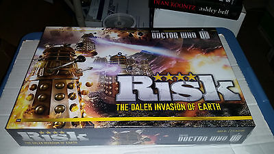Doctor Who Risk Game NEW SEALED