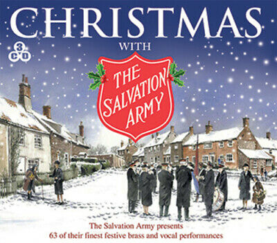 Christmas With the Salvation Army CD 3 discs (2013) Expertly Refurbished Product