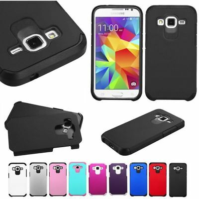 For Samsung Galaxy Prevail LTE G360 Core Prime Hybrid Impact Rugged Cover Case
