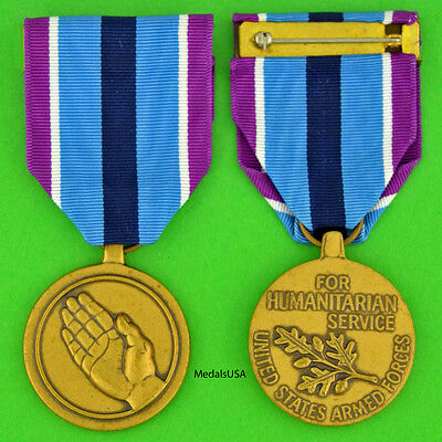 Humanitarian Service Medal - full size made in the USA - USM094 HSM
