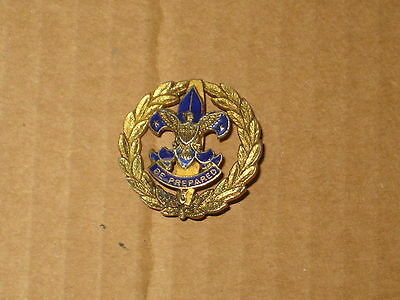 Assistant District Commissioner Collar Brass Pin   et
