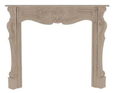 Pearl Mantels The Deauville 58 134-58 Fireplace Mantel NEW
