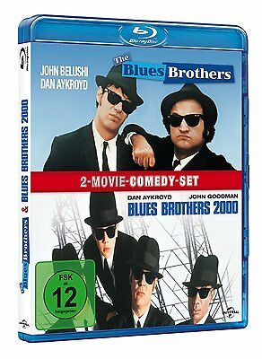 2 Blu-rays * THE BLUES BROTHERS + THE BLUES BROTHERS 2000 # NEU OVP +
