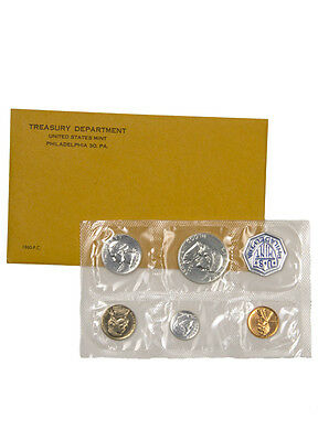 1960 United States US Mint Silver Proof Set In Original Mint Packaging SKU18633