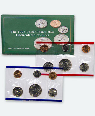 1993 United States US Mint Uncirculated Coin Set SKU1399