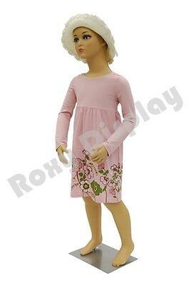 Children Kids Plastic Mannequin Manikin Display #PS-KD-5+ Free Wig