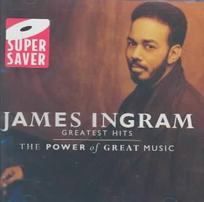 James Ingram (Vocals/keys) - The Greatest Hits: The Power Of Great Music New Cd