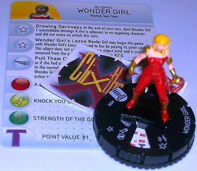 DC Heroclix Teen Titans Wonder Girl Lasso Limited Edition S103