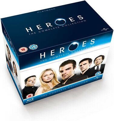 Heroes: The Complete Collection Blu-Ray (2012) Hayden Panettiere cert 15 18
