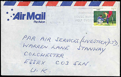 Australia 1990 Commercial Airmail Cover To UK #C32457