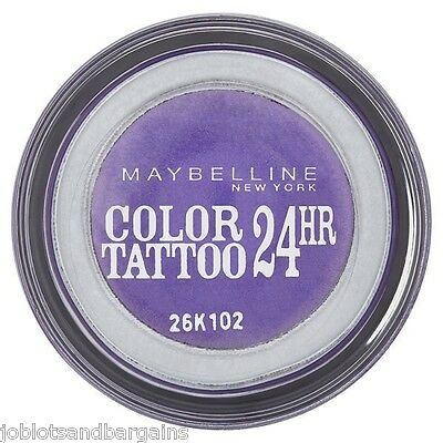 Maybelline Color Tattoo 24hr Gel Cream Eyeshadow - (15) Endless Purple