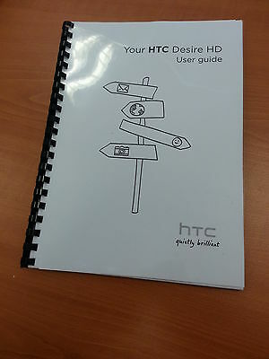 Htc Desire Hd Full Printed User Manual Guide 229 Pages A5