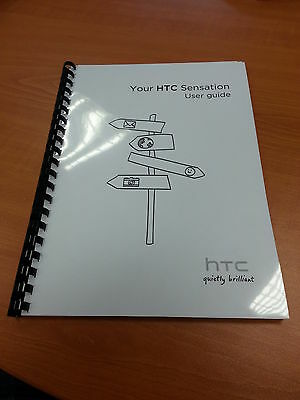 Htc Sensation Full Printed User Guide Instruction Manual 174 Pages A5