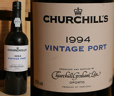 1994er Churchill's Vintage Port  -  Top Jahrgang *****