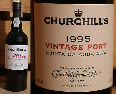 1995er Churchill's - Agua Alta - Single Quinta Vintage Port  -  Top  *****