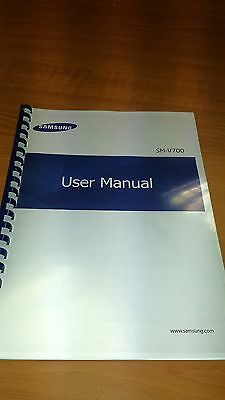 Samsung Galaxy Gear (V700) Printed Instruction Manual User Guide 57 Pages A5