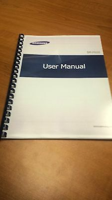 Samsung Galaxy Note  P600  Printed Instruction Manual User Guide 126 Pages A5