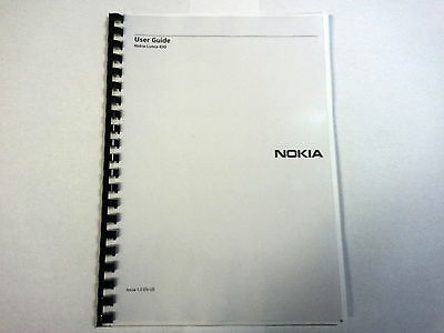 Nokia Lumia 630 Fully Printed Instruction Manual User Guide 110 Pages A5