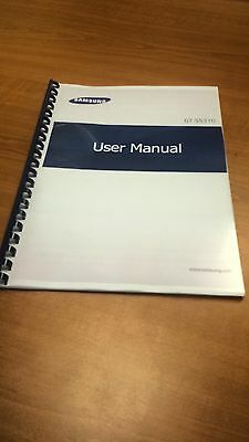 Samsung Pocket Neo Gt-S5310 Printed Instruction Manual User Guide 100 Pages A5