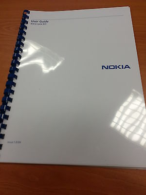 Nokia Lumia 820 Fully Printed Instruction Manual User Guide 109 Pages A5