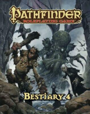 Pathfinder Roleplaying Game: Bestiary 4 by Jason Bulmahn (English) Free Shipping