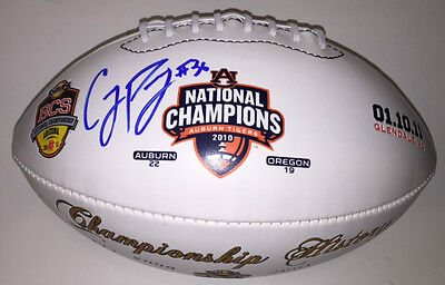 Cody Parkey Signed Auburn Tigers Tostitos Bcs National Champions 2010 Football