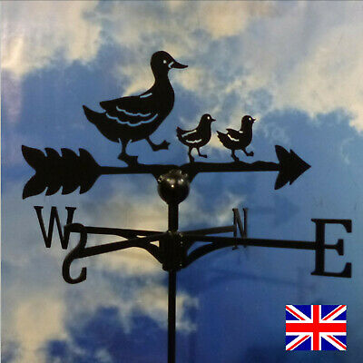 High Quality British Made Duck Family Weathervane.(9B)