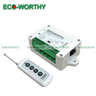 DC8-35V Wireless Remote Control Kit Linear Actuators Motor Controller Door Open