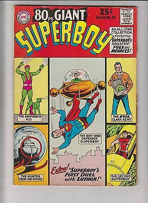 80 Page Giant #10 VG+ may 1965 - second superboy - silver age dc comics
