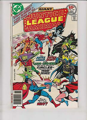 Justice League of America #148 VF legion of super-heroes - justice society 1977