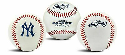 Rawlings New York Yankees Team Logo Manfred MLB Baseball Autograph