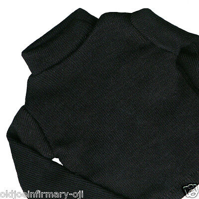 "Infirmary Exclusives Black Turtleneck Sweater for 12"" Male Figures 1:6 (7405g57)"
