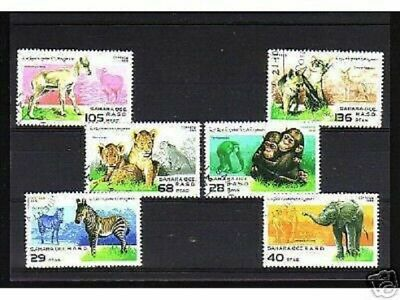 1001+ Sahara  Occ. Serie Timbres  Animaux Sauvages  N°1