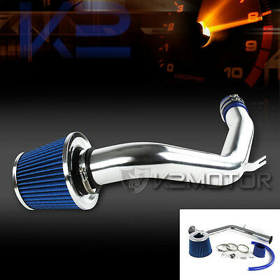 For VW 99-05 Golf Jetta MK4 1.8 Turbo 2.0L Cold Air Intake System+Blue Filter